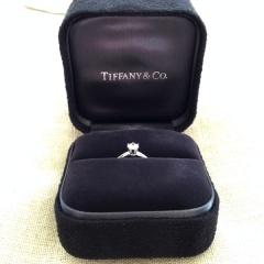 【ティファニー(Tiffany & Co.)の口コミ】 私がティファニーが好きだと言っていたのを思い出し、彼がお店に下見に行…
