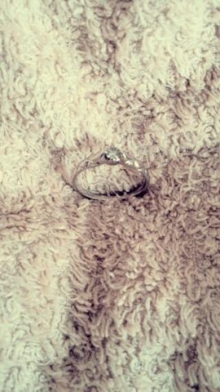 【QDMの口コミ】 プラチナのリングにダイヤがあって、ちょっとデザイン性も欲しいなと探し…