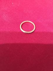 【ティファニー(Tiffany & Co.)の口コミ】 婚約指輪がギリシャ数字とダイヤ入りのローズゴールドで、普段から2個つ…