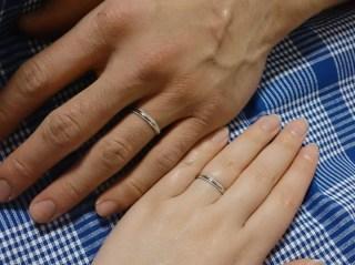 【ギンザタナカブライダル(GINZA TANAKA BRIDAL)の口コミ】 シンプルなミル打ちのプラチナの指輪がほしいと思って、いろいろなお店を探…