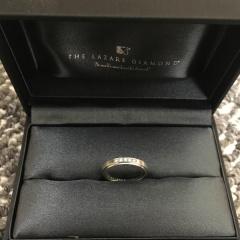 【ラザール ダイヤモンド(LAZARE DIAMOND)の口コミ】 主人が指輪を買うならラザールダイヤモンド!ということでブランドは初めか…