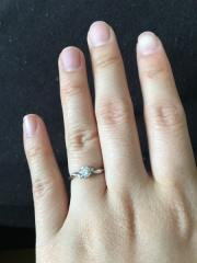【LAPAGE(ラパージュ)の口コミ】 彼の母親が頂いた指輪があり、それを加工してくれるところを探していまし…