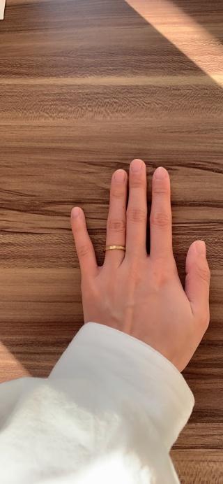【TOMOE(トモエ)の口コミ】 シンプルだけど高級感があって他の人と被らない指輪を探していてここの指…