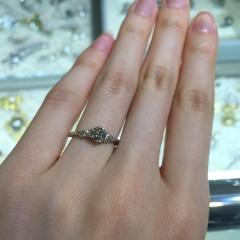 【宝寿堂(ほうじゅどう)の口コミ】 低価格で大きめのダイヤモンドを選べたことが、まずよかったところです。人…