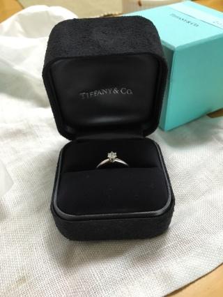 【ティファニー(Tiffany & Co.)の口コミ】 指輪のことをあまり詳しくないので、主人の勧めでティファニーにしました。…