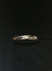 【ラザール ダイヤモンド(LAZARE DIAMOND)の口コミ】 結婚指輪はシンプルなものが希望だったので、お店の方にそのようにお願いし…