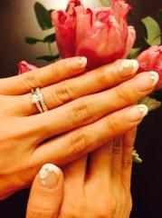 【カルティエ(Cartier)の口コミ】 シンプルな婚約・結婚指輪を探していました。有名メゾン2社にしぼり、実際…