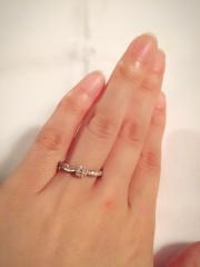 【ティファニー(Tiffany & Co.)の口コミ】 Tiffanyの指輪は昔から憧れでした。 指輪選びに何店舗かまわりまし…
