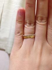 【SIND BAD(シンドバット)の口コミ】 アフターサービスが充実し、安心感があり決めさせていただきました。 婚約…