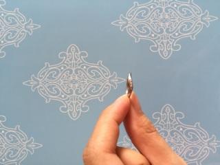 【A・D・A(エー・ディー・エー)の口コミ】 この形が自分の指にフィットし、指が細く見えるデザインでした。仕事中も指…