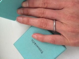 【ティファニー(Tiffany & Co.)の口コミ】 割れることもあると聞いたので、ダイヤなどの石が入っていないもので、少…