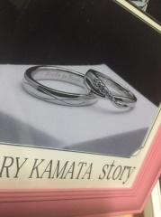 【JEWELRY  KAMATA(ジュエリーかまた)の口コミ】 やはりオーダーメイドできるところですね。一味違った一つしかない指輪に…