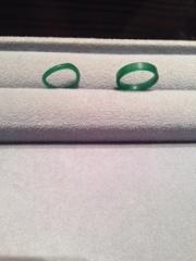 【ケイウノ ブライダル(K.UNO BRIDAL)の口コミ】 オーダーメイドで指輪を作ってもらえることが一番の決め手でした。 花嫁と…