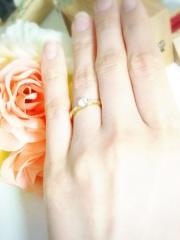 【ENUOVE(イノーヴェ)の口コミ】 婚約指輪はいらないと言っていたのに、主人が内緒で作ってくれていました!…