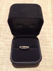 【ティファニー(Tiffany & Co.)の口コミ】 婚約指輪をティファニーにしたので一緒に使う事も考えて同じブランドのもの…