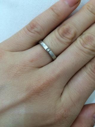 【ブルガリ(BVLGARI)の口コミ】 本当はグッチの指輪が良かったんですが、人と被るデザインや、細めの指輪し…