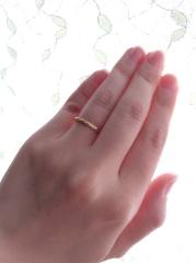 【COLETTE GIFT(コレットギフト)の口コミ】 入籍して半年後、子宝に恵まれたので出産後に婚約指輪を購入したのと同じ…