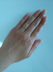 【アイプリモ(I-PRIMO)の口コミ】 毎日つけるものなのであまり主張しすぎないような指輪にしたいと思い探して…