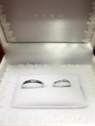 【宝寿堂(ほうじゅどう)の口コミ】 結婚指輪だったので、シンプルかつ可愛いものを探していました。サイズも…