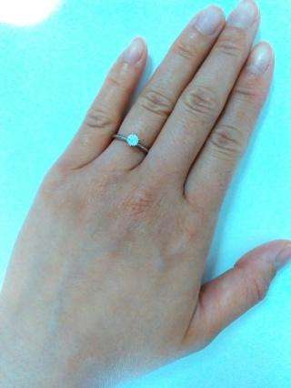 【アイプリモ(I-PRIMO)の口コミ】 可愛らしいデザインの指輪もたくさんあるのですが、あまり甘すぎるものだ…