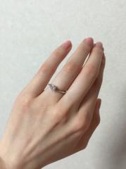 【宝寿堂(ほうじゅどう)の口コミ】 リングのデザインがすごく綺麗だったため。 かなり色んなデザインの指輪を…