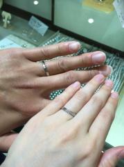 【宝寿堂(ほうじゅどう)の口コミ】 手指の形から似合う指輪を即決で選んでいただきました。自分の手がとても…