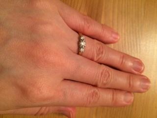 【LUCIE(ルシエ)の口コミ】 指輪購入の決め手となったのは指輪のデザインです。 たくさんのブランドを…
