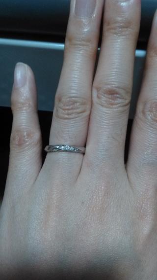 【アイプリモ(I-PRIMO)の口コミ】 ストレートタイプの指輪を探していて、ねじりの入ったデザインが良いと思っ…