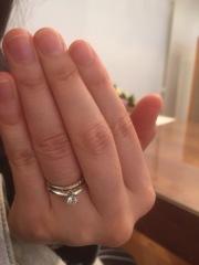【PORTADA(ポルターダ)の口コミ】 パナジウムの指輪を探してこのブランドを知り、ぜひ見に行きたいと思い試着…