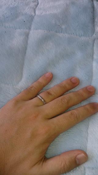 【ティファニー(Tiffany & Co.)の口コミ】 シンプルデザインが好きだったため好みのデザインのリングを探していたと…