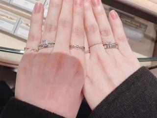 【ORECCHIO(オレッキオ)の口コミ】 HPで見た際に気になったリングを試着させていただきました。 左手薬指に付…