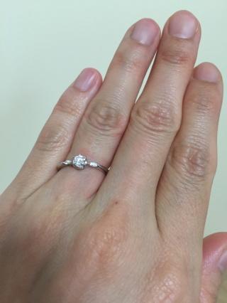 【COCKTAIL(カクテル)の口コミ】 まずダイヤモンドの4Cが自分の希望する範囲の満足出来るものがあったのが…
