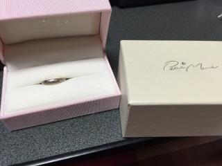 【Petit Marie(プチマリエ)の口コミ】 薔薇の模様のデザインに一目惚れしました!  憧れはダイヤのフルエタニテ…
