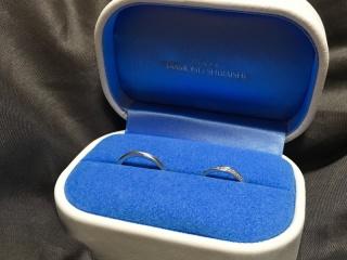 【銀座ダイヤモンドシライシの口コミ】 普段指輪をしない彼が試着した際、驚く程着け心地が良かったらしく即決しま…