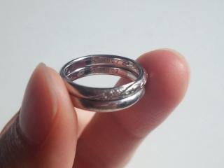 【ケイウノ ブライダル(K.UNO BRIDAL)の口コミ】 他のブランドの結婚指輪も見ましたが、どれを見てもありきたりなデザイン…