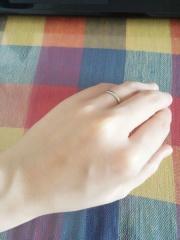 【銀座ダイヤモンドシライシの口コミ】 もともと指輪をつける習慣もなく、装着感の強いものが苦手だったのと、仕事…
