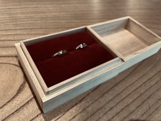 【ichi(イチ)の口コミ】 鋳造ではなく鍛造の結婚指輪が欲しくてたどり着いたのがichi。和風テイス…
