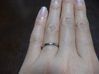 【HOSHI no SUNA 星の砂(ほしのすな)の口コミ】 シンプルな指輪を探していて、最初は石もなにも付いていないのにしようと…