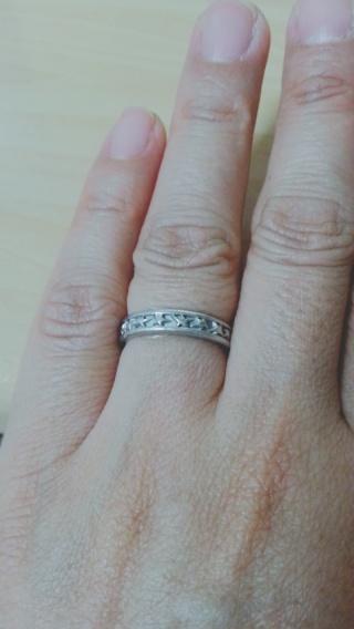 【スタージュエリー(STAR JEWELRY)の口コミ】 結婚する前に、同じデザインのホワイトゴールドのリングをしていて、星が…
