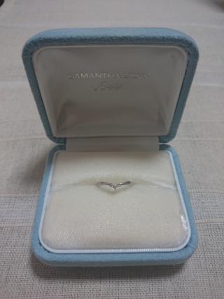 【サマンサシルヴァブライダルの口コミ】 実は指輪を買うのが初めてでどんな指輪合うかわからず結構悩みました。こ…