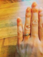【アイプリモ(I-PRIMO)の口コミ】 婚約指輪は、婚約期間中だけでなく、セレモニーに参列する際など特別な時に…