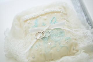 【ケイウノ ブライダル(K.UNO BRIDAL)の口コミ】 このペアリングは、二つの指輪を合わせるとハートが表れます。 毎日つける…