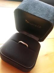【ティファニー(Tiffany & Co.)の口コミ】 婚約指輪は頂かないことにしたため、結婚指輪は少しリッチなものにとゆう…