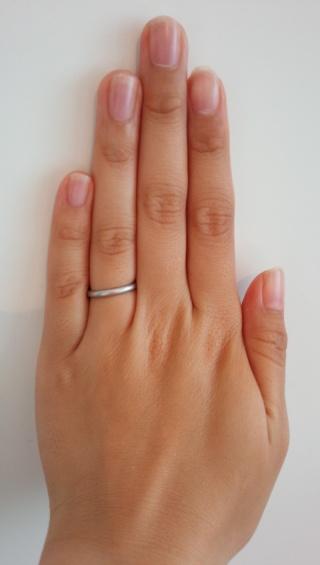 """【カルティエ(Cartier)の口コミ】 かねてから""""結婚指輪は死ぬまで肌身はなさずつけていたい""""と…"""