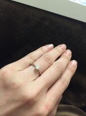 【LEHAIM(レハイム)の口コミ】 婚約指輪、結婚指輪とも、こちらで購入させていただきました。 何件か検討…