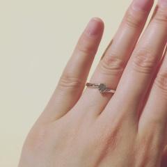 【ジュエリームナカタ(Jewelry MUNAKATA)の口コミ】 自分自身婚約指輪にブランドこだわりもなく、少しでもオリジナリティが出て…
