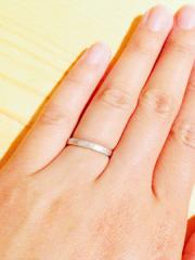 【フラー・ジャコー(FURRER-JACOT)の口コミ】 セミオーダーでも、何千通りもパターンが出来るので、自分たちの特別な指輪…