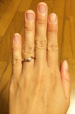 【杢目金屋(もくめがねや)の口コミ】 結婚式も神社で和装を着用予定だったため、「和」をイメージした指輪が欲し…