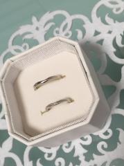 【4℃(ヨンドシー)の口コミ】 細いラインが綺麗で、Vラインは指が長く見えました。 S型もありましたが、…