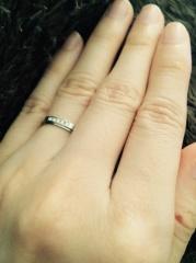 【ラザール ダイヤモンド(LAZARE DIAMOND)の口コミ】 1日のうちに、数件お店を回ったのですがこちらのお店のダイヤモンドが1番…